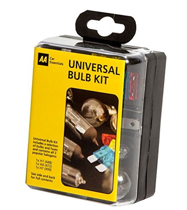 AA Compact Universal Bulb Kit,
