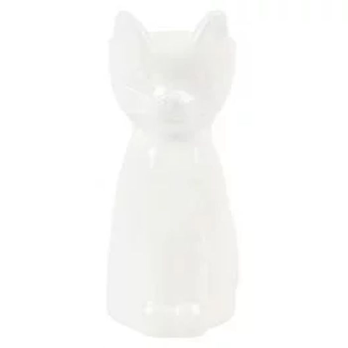 Animal Kingdom Cat Egg Cup White
