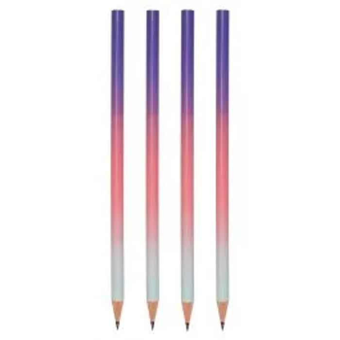 Blue Ombre Pencils - Pack of 4