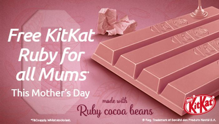 FREE KITKAT RUBY at Odeon for Mother's Day!