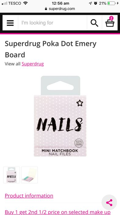 Mini Nail Files