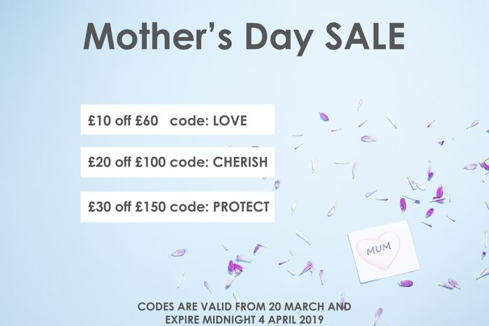 Spend £60 and Receive £10 off by Entering the Code 'Love' at Checkout