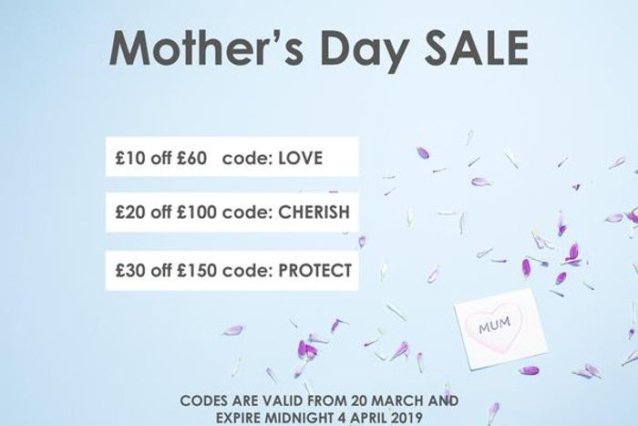 Spend £150 and Receive £30 off by Entering the Code 'Protect' at Checkout