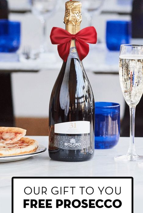 Free Prosecco With your Main on Your Birthday Deal