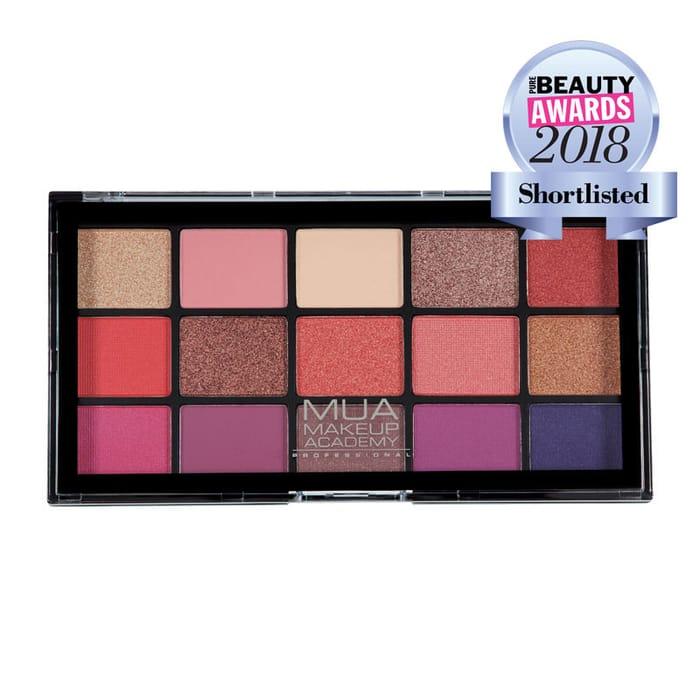 MUA Professional 15 Shade Eyeshadow Palette - Cosmic Vixen