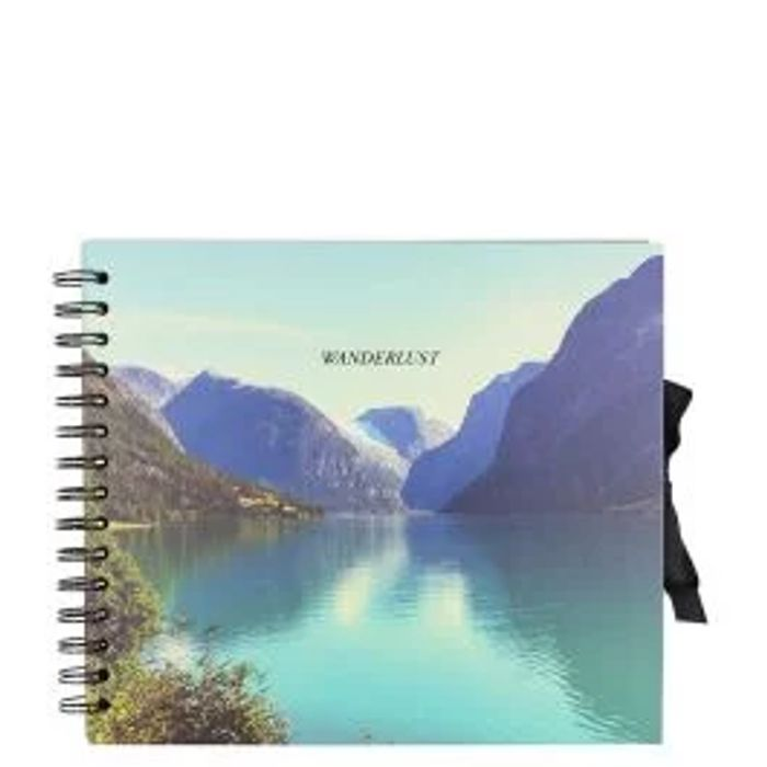 Wanderlust Scandi Small Scrapbook - HALF PRICE!