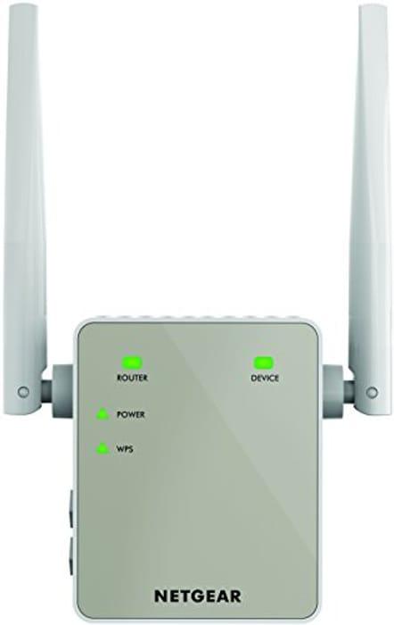 NETGEAR EX6120-100UKS Performance Wi-Fi Range