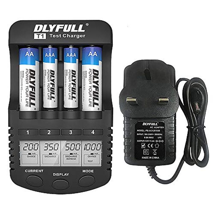 Rechargeable Battery Charger - Half Price!