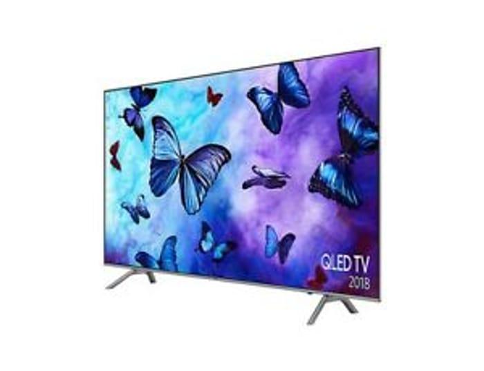 Samsung QE55Q6FNAT (2018 Model) 55 Inch Ultra HD 4K Smart Quantum Dot LED TV