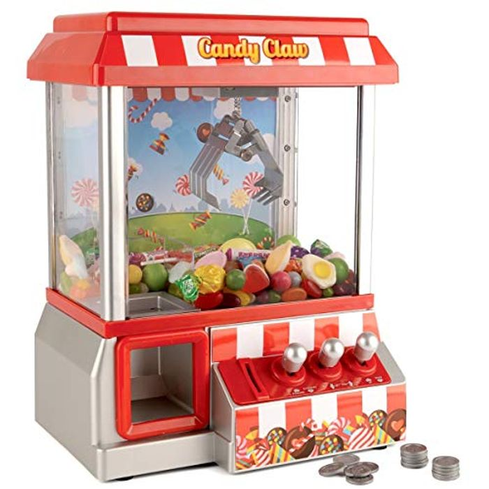 Candy Grabber Machine Arcade Game Novelty Table Top Sweet Grab Toy