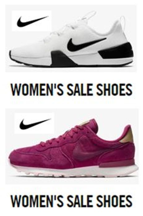 NIKE WOMEN'S SALE SHOES - up to 45% Off