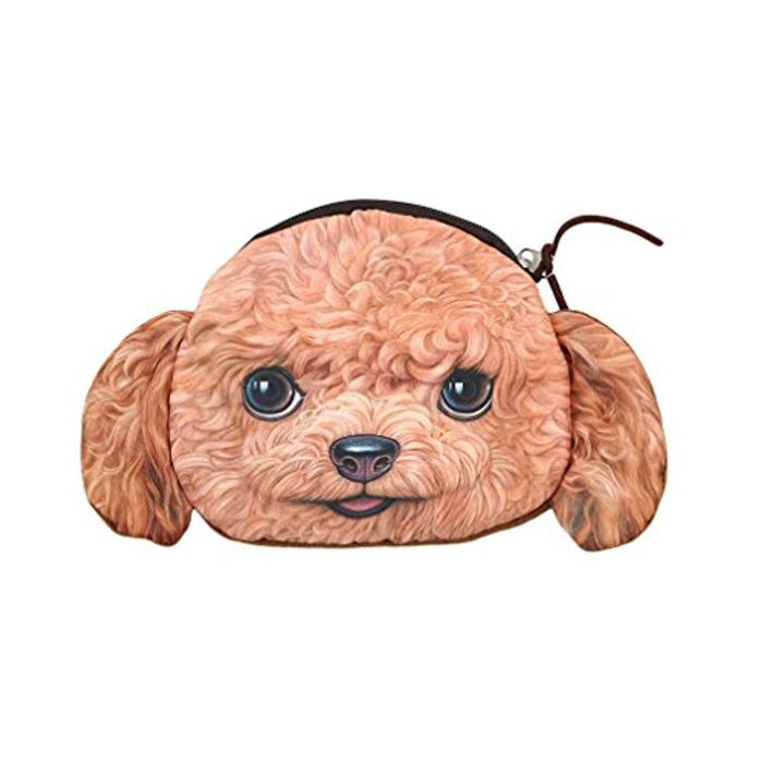 Poodle Coin Purse - Free Delivery