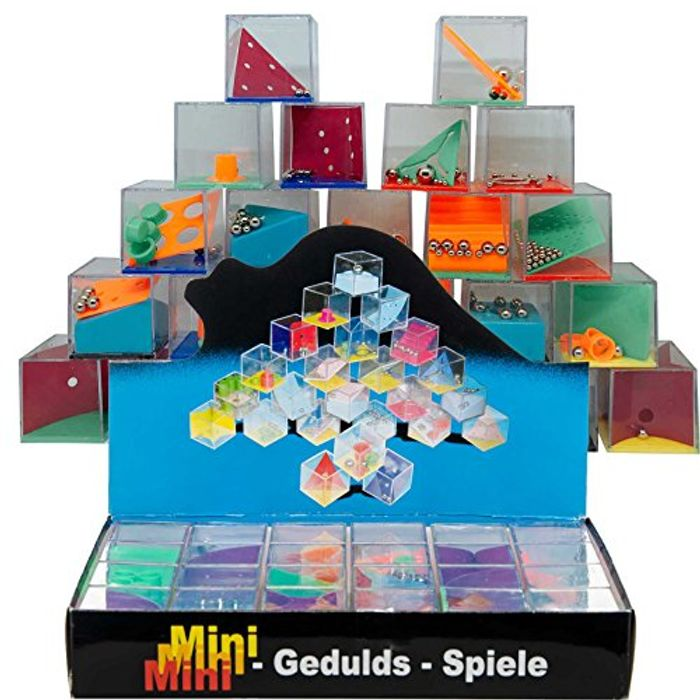 **LIGHTNING DEAL** BOX of 24 Different Maze Puzzles (Ideal for Party Bags Etc)