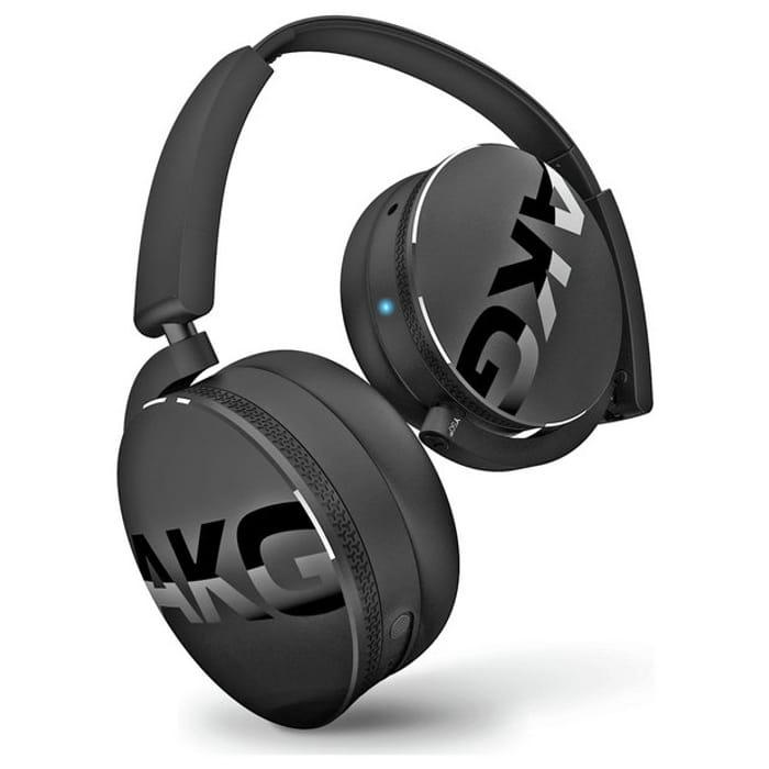 AKG C50BT On-Ear Wireless Headphones - Black
