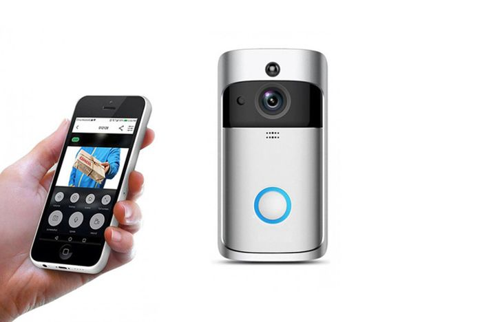 WiFi Security Video Doorbell - 2 Colours!