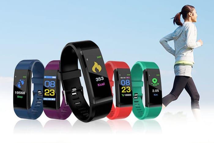 VeryFit Pro 20-in-1 Activity Tracker W/ HR & BP Monitor!