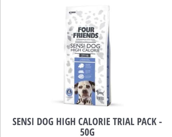 Four friends pet food sample and Voucher