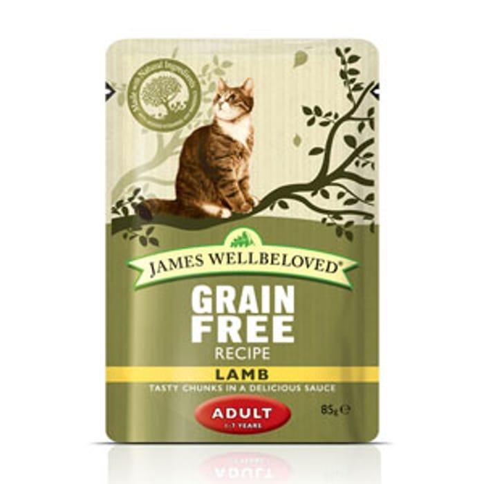 James Wellbeloved 12 Pack Multipack Grain Free Wet Cat Food - 28% Off