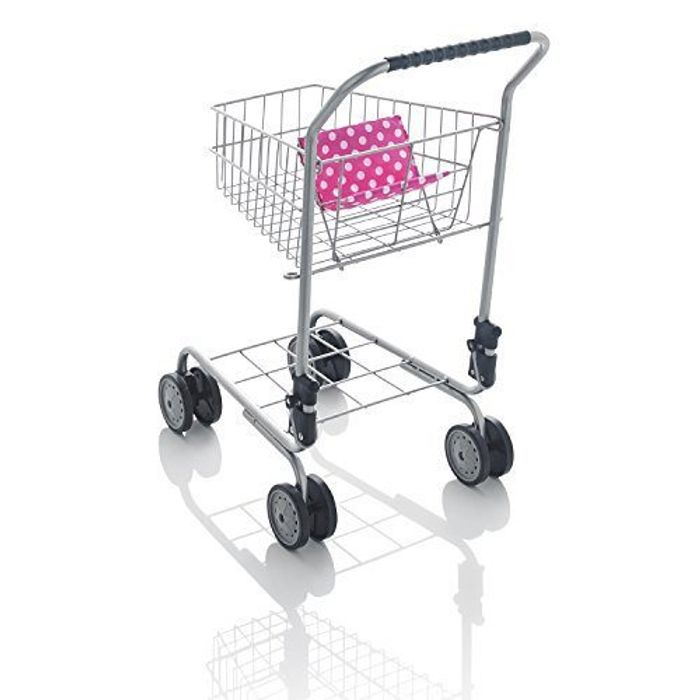 Molly Dolly Deluxe Metal Shopping Trolley - HALF PRICE