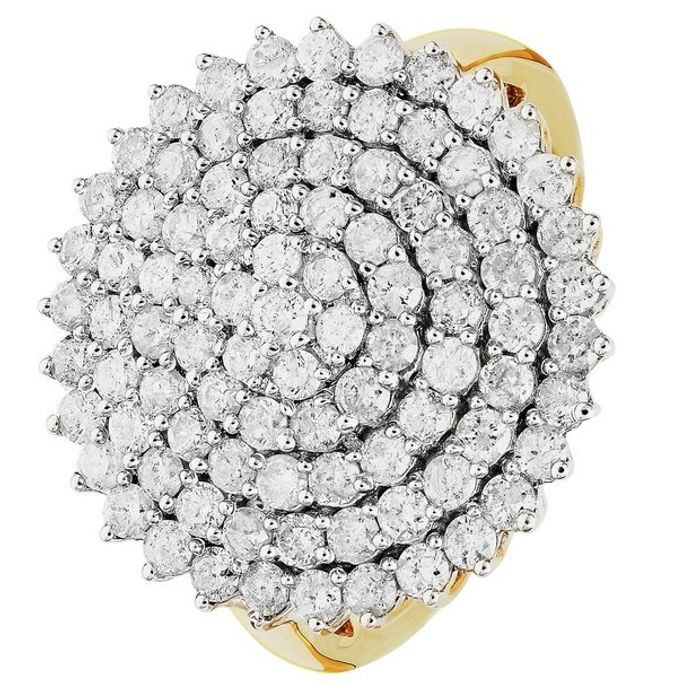 9ct Gold 2.00ct Diamond Ring