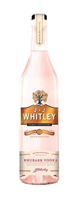 JJ Whitley Rhubarb Vodka 70cl - Save £3.99