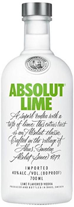 Absolut Lime Flavoured Vodka 70cl - 23% Off