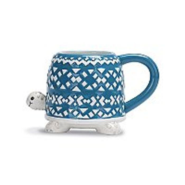 Blue Turtle Shaped Mug - Save £1