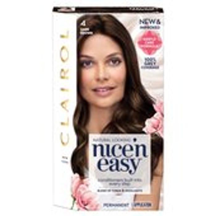 Nice 'N Easy Permanent Colour 120 Natural Dark Brown Hair Dye