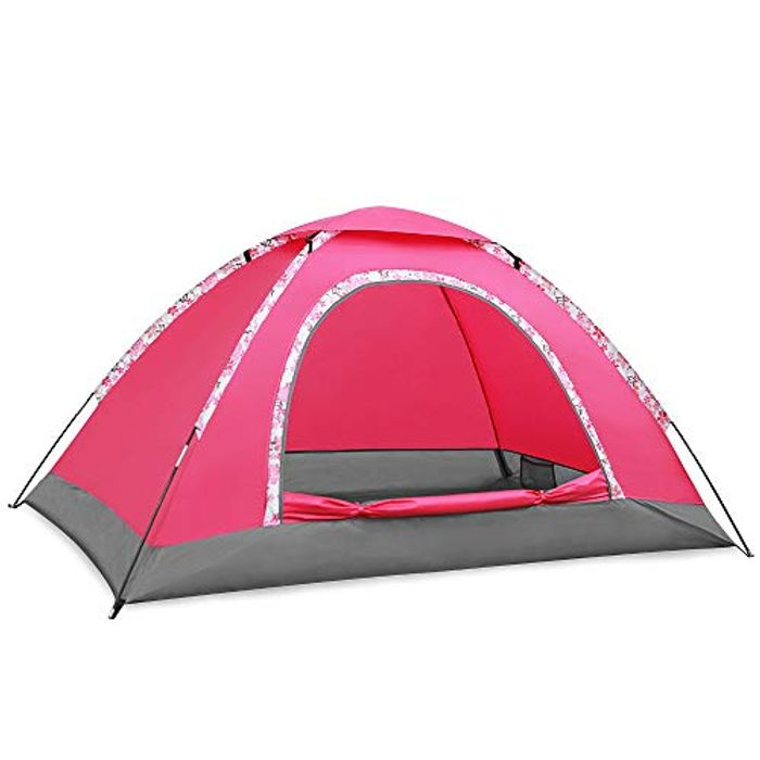 2-3 Person Camping Tent, Double Layer