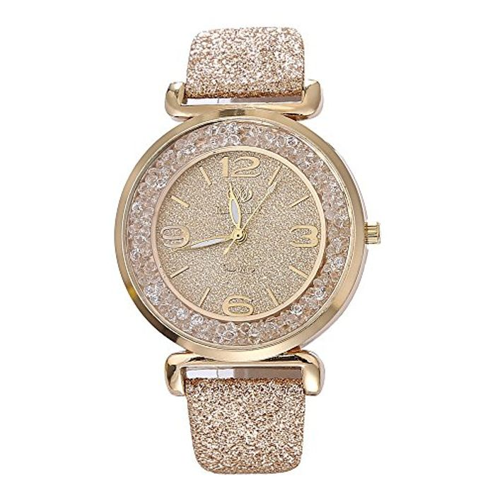 Womens Crystal Quartz Watches