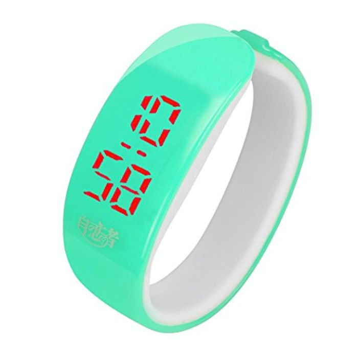 New Fashion Classic Charming Rubber LED Watch
