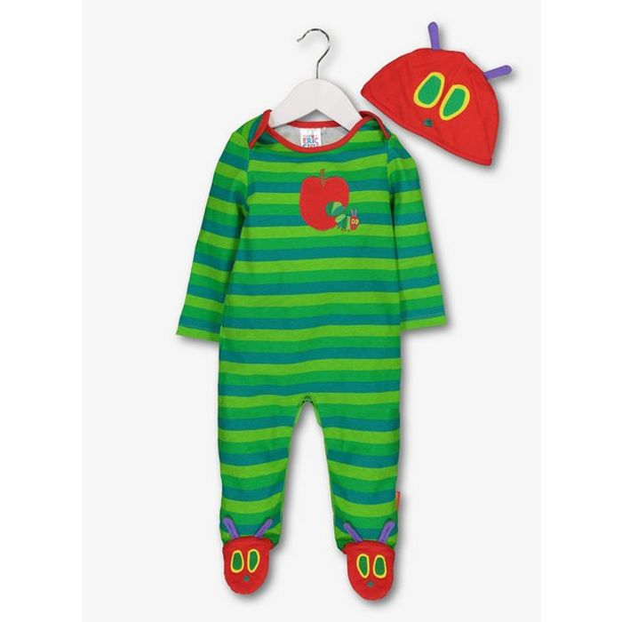 The Very Hungry Caterpillar Sleepsuit & Hat Set