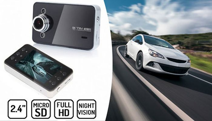 2.4in Full HD Car Dash Cam + Optional 32G SD Card