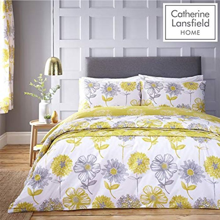Cheap King Size Bedding Set. Pretty Summer Colours