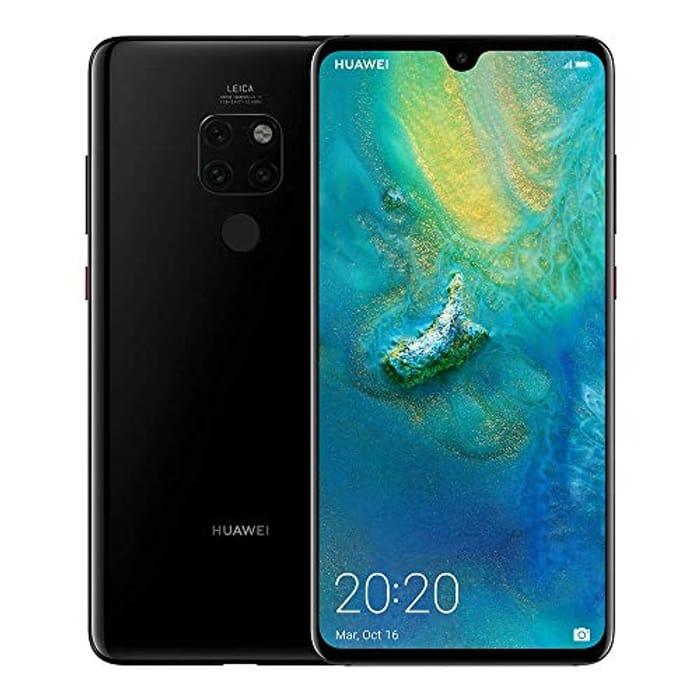 SAVE £200. Huawei Mate 20 SIM-Free Smartphone 128 GB ***4.5 STARS***