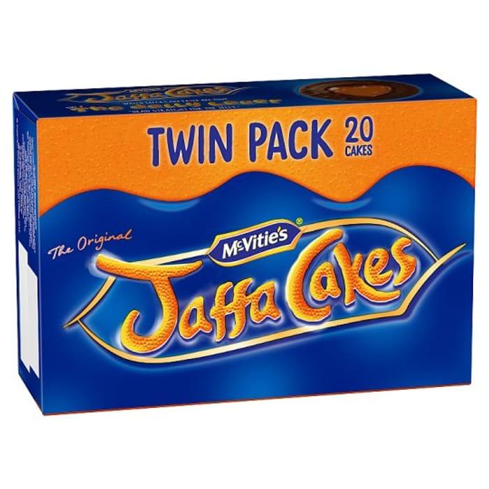 Mcvities Jaffa Cakes Twin Pack - Half Price!