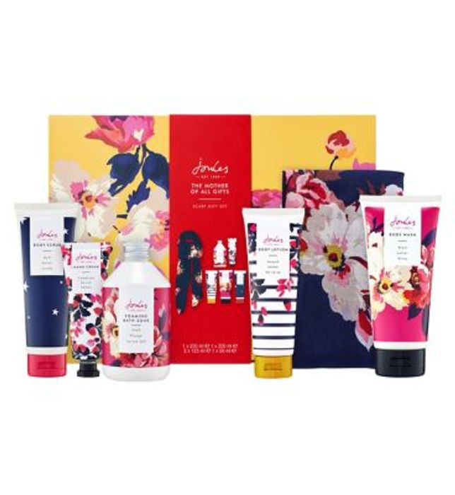 Joules the Mother of All Gifts Scarf Gift Set