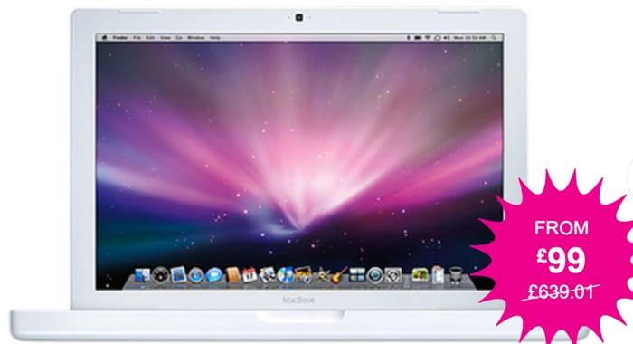 13 MacBook A1181 4GB RAM - 160GB or 250GB HDD & 7 Skins! Refurbished.