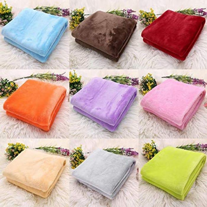 ZEARO Flannel Towel, Baby Blankets