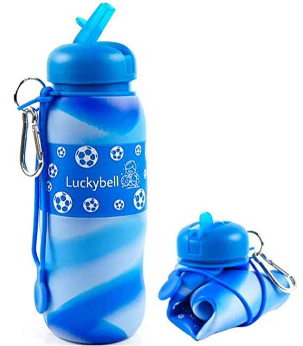 Luckybell Collapsible Rol-up Water Bottle at Amazon - 60% Off
