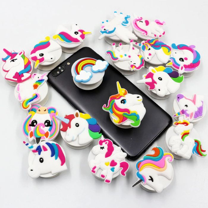 Unicorn/flamingo/mermaid Party Rubber Cell Phone Stand
