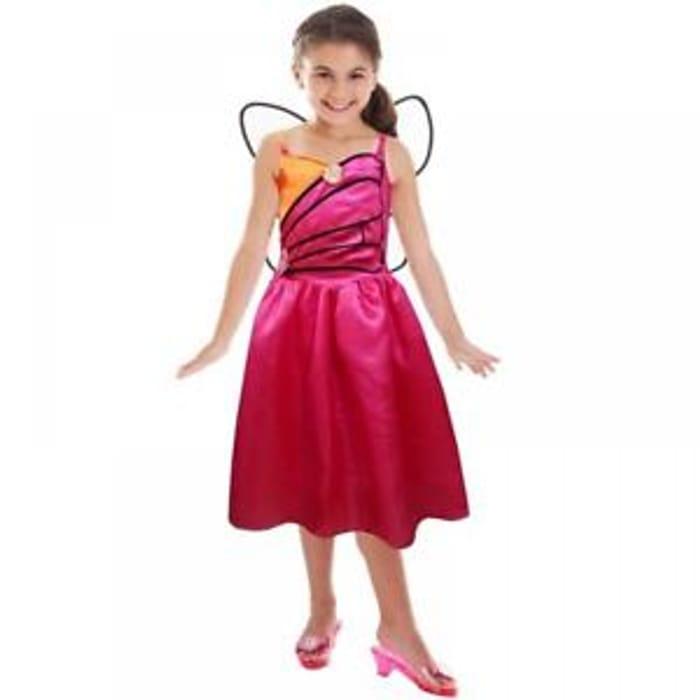 Barbie Doll Mariposa & The Fairy Princess Fancy Dress Costume - Save £2