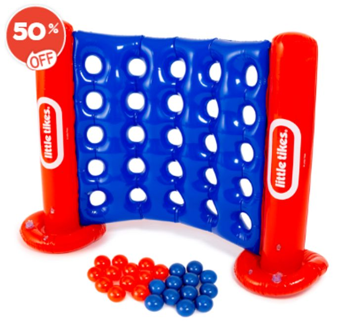 Little Tikes Giant Inflatable Four to Score Game - Best Price