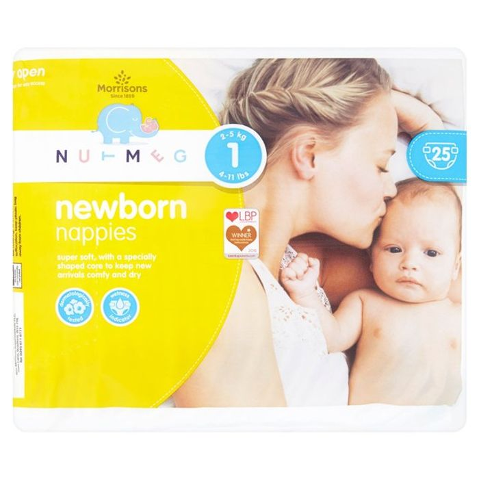 Deals on Nutmeg Nappies