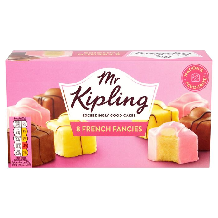 Mr Kipling 8 French Fancies 2 for £2