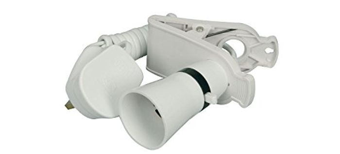 Clip on Bulb Holder with on & off Function
