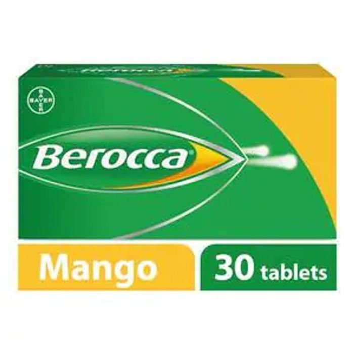 Berocca Mango Energy Vitamin 30 Tablets