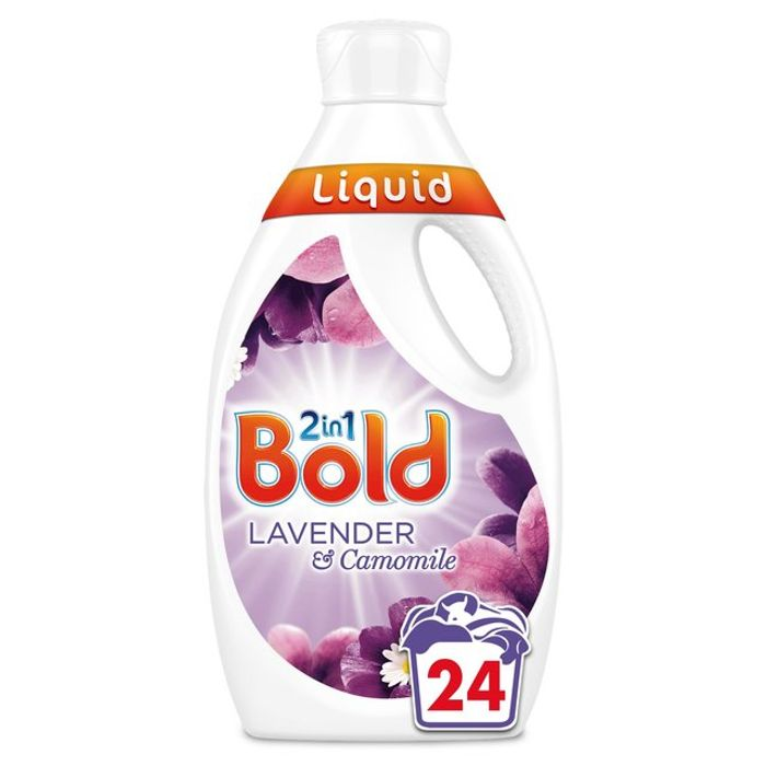Bold 2in1 Washing Liquid Lavender & Camomile 24 Washes 840ml