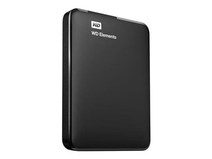 "WD 4TB Elements 2.5"" USB 3.0 Portable Hard Drive"