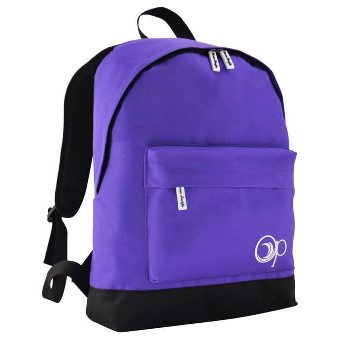 Ocean Pacific Unisex Backpack Back Pack Zip